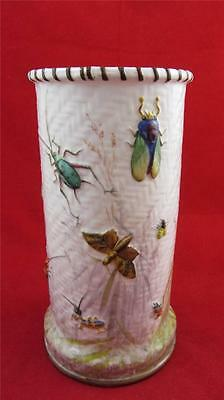 Stunning Minton Pottery Insect Vase, England, C1873 - 1912