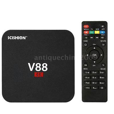 SCISHION V88 Android 6.0 Smart TV Box 8GB RK3229 Quad-Core 16.1 HD 4K H.265