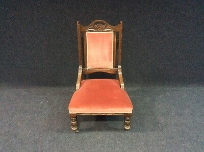 Victorian Edwardian Antique Oak Library Chair Best Selection In Southyorkshire • £85.00