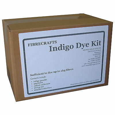 Fibrecrafts Natural Indigo Dye Kit -  Get started with Indigo Dyeing