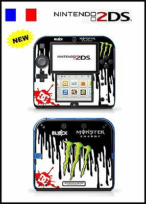 Skin Sticker Autocollant Deco Pour Nintendo 2Ds Ref 45 Block