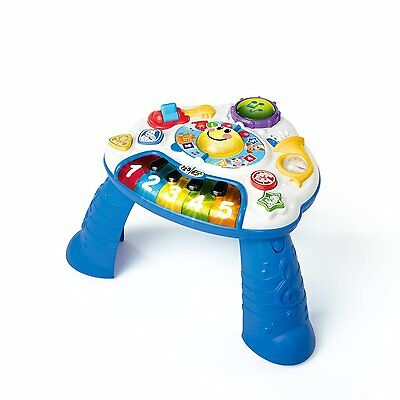 Baby Einstein Discovering Music Activity Table (Piano & Drum Station Lights Up)