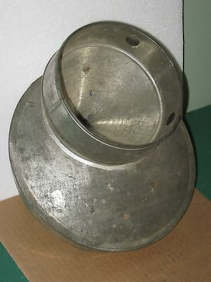 Antique Farm Milk Jug Can Dairy Metal Lid Cone STRAINER Cream EUREKA Pat