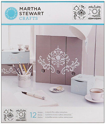 Martha Stewart Crafts Stencils Flourish Designs Set 32255