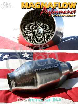 MagnaFlow Racing Performance Catalytic Converter 200 Cell Metall catalyst MF2211