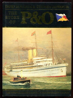 Howarth P&O STEAM NAVIGATION COMPANY History ILLUS 1986 Brit HC/DJ Steamships