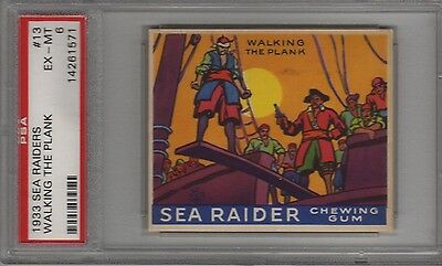 1933 R124 Sea Raiders #13 Psa 6