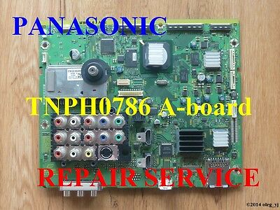 TNPH0786 any suffix A BOARD REPAIR SERVICE for PANASONIC plasma tv
