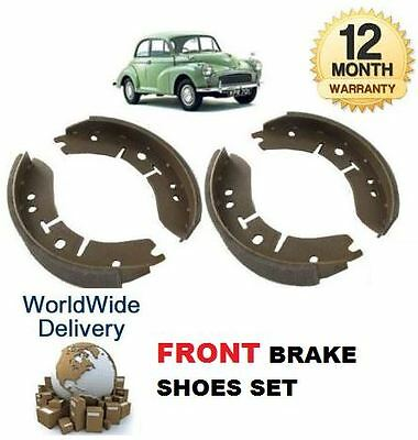 Morris Moggy Minor 1000 1962-1971 New Front Axle Brake Shoes Shoe Set