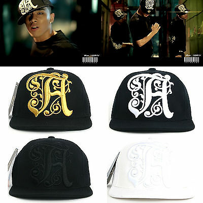 Bigbang Tae Yang H Logo Snapback Baseball Adjustable K-Pop Star Hiphop Hats Caps