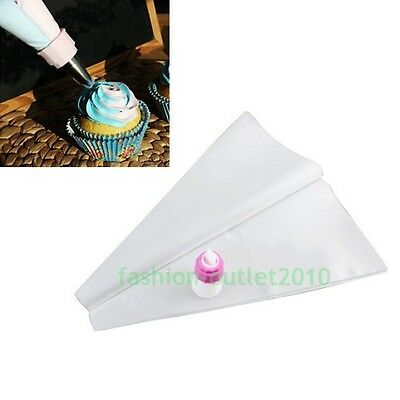 Icing Two Color Bags Piping Frosting Fondant Nozzles DIY Cupcake Cake Decorating