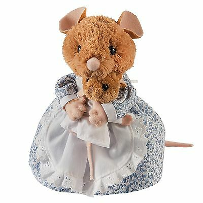 Gund A26440 Beatrix Potter Plush Hunca Munca and Baby Medium