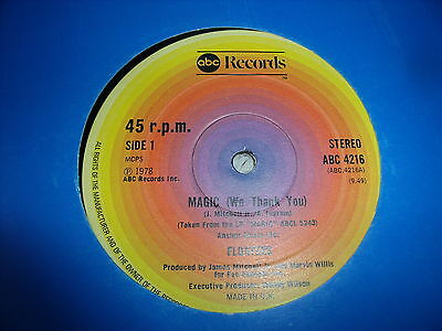 """FLOATERS - MAGIC WE THANK YOU - I JUST WANT TO BE WITH YOU - CLASSIC SOUL - 12"""""""