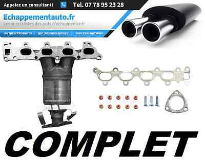 CATALYSEUR Collecteur Pot Catalytique OPEL ASTRA H MERIVA Z1.6XEP 5849043