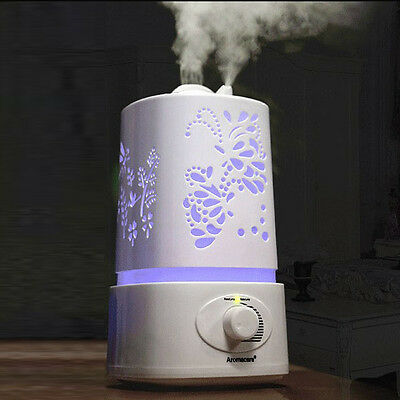 USA Stock! Ultrasonic 1.5L Air Humidifier Aroma Purifier Diffuser Steam Mist