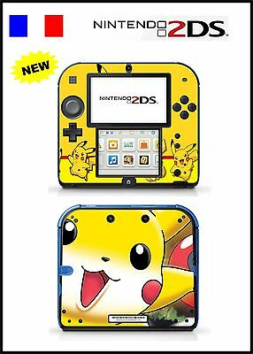 Skin Sticker Autocollant Deco Pour Nintendo 2Ds Ref 88 Pokemon
