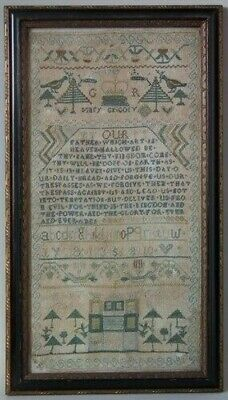 1756 Lords Prayer Sampler by Mary Gregory