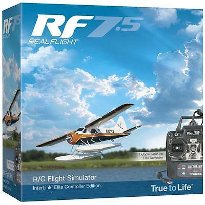 Great Planes RF Real Flight 7.5 w MD 2 Radio Flight Simulator / Sim Vista