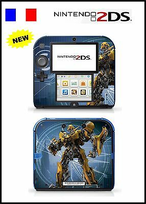 Skin Sticker Autocollant Deco Pour Nintendo 2Ds Ref 99 Transformers