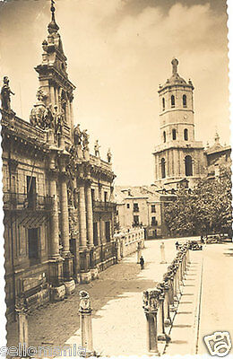 Antigua Postal Valladolid Universidad Y Torre Catedral Old Postcard      Cc00179
