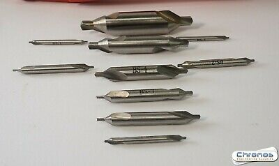 Set Of 10 Hss Soba Imperial Centre Slocombe Drills