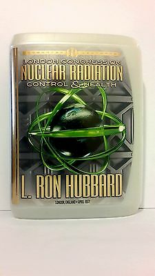 SCIENTOLOGY LECTURE ON NUCLEAR RADIATION CONTROL AND HEALTH CD and book