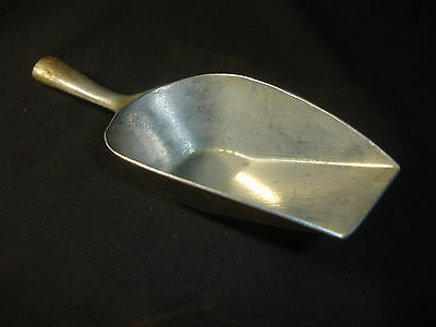 Old Vtg Antique Collectible Aluminum Scoop Made In Germany