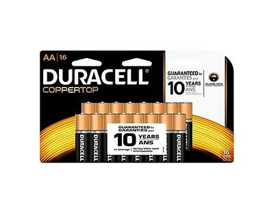 Duracell 70464 - AA Cell Batteries 16 Pack (MN1500B16)