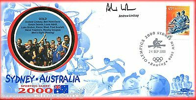 "2000 Sydney Olympics - Benham ""Special"" - Signed by ANDREW LINDSAY"