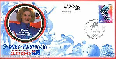 "2000 Sydney Olympics - Benham ""Special"" - Signed by KATE ALLENBY"