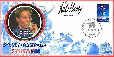 "2000 Sydney Olympics - Benham ""Special"" - Signed by KATE HOWEY"