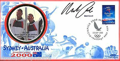 "2000 Sydney Olympics - Benham ""Special"" - Signed by MARK COVELL"