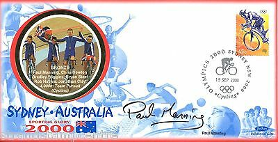 "2000 Sydney Olympics - Benham ""Special"" - Signed by PAUL MANNING"