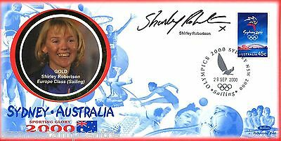 "2000 Sydney Olympics - Benham ""Special"" - Signed by SHIRLEY ROBERTSON"