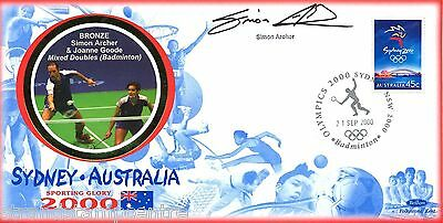 "2000 Sydney Olympics - Benham ""Special"" - Signed by SIMON ARCHER"