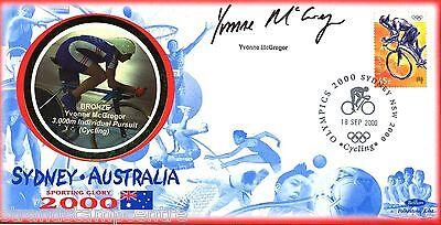 "2000 Sydney Olympics - Benham ""Special"" - Signed by YVONNE McGREGOR"