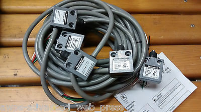 HONEYWELL, 914CE18-9A Limit Switch NO+NC, NEU