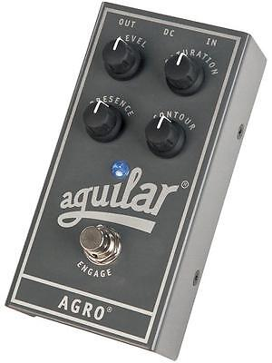 Aguilar AGRO Aguilar Saturation Overdrive Bass Effects Pedal