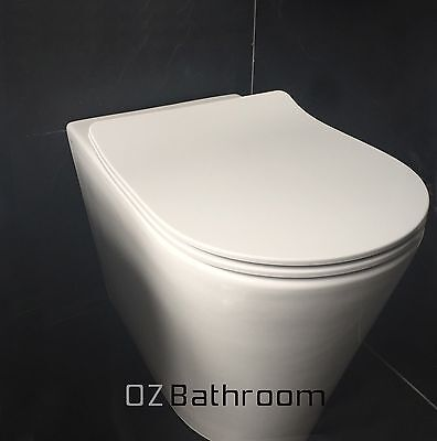 2017 SLIM high quality resin soft closing quick release toilet seat