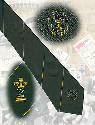 Welsh Rugby Union - District 'F' Juniors/Youth - 8.5cm RUGBY TIE