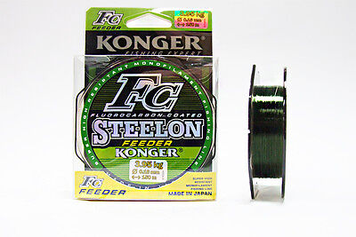 Fluorocarbon Coated Fishing Line Mono Carp Feeder Method Fast Sinking Spool 150m