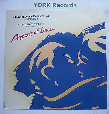 """MICHAEL BALL - Love Changes Everything - Excellent Condition 12"""" Single RURX 3"""
