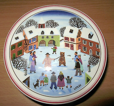 Villeroy And Boch Christmas Naif Cake Plate