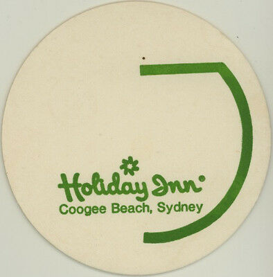 Coaster: Holiday Inn, Coogee Beach, Sydney.