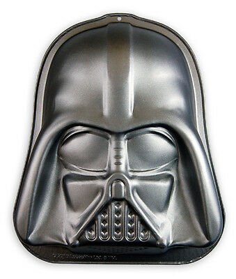 Darth Vader Backform Star Wars, Kuchenform aus teflonbeschichtetem Carbonstahl