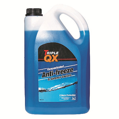 Triple QX 5L Blue AntiFreeze Summer Coolant Concentrate 5 Litre BC6589 BS6580