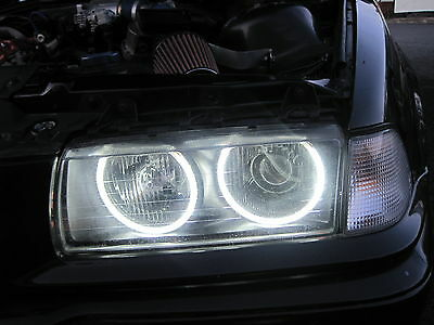 BMW 3 Series E36 Ccfl Angel Eye Kit Halo Rings 6000K Lighting Spare Part