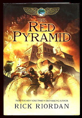 2 by Riordan RED PYRAMID & THRONE OF FIRE Kane Chronicles Books #1 & 2 HC/DJ 1st