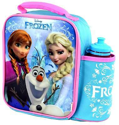 Disney Frozen Vertical Lunch Bag/Box and Bottle Set | OFFICIAL DISNEY!
