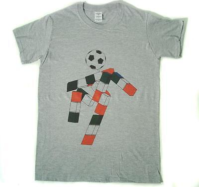 ab2045415 Italia 90 Ciao Football World Cup 90s Retro Grey T-Shirt Size S-XXXL